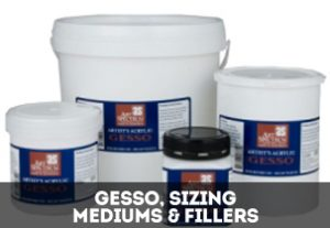 Gesso, Sizing, Mediums & Fillers