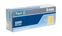 Rapid 13/6mm Staples