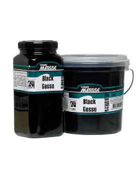 Matisse Black Gesso MM25