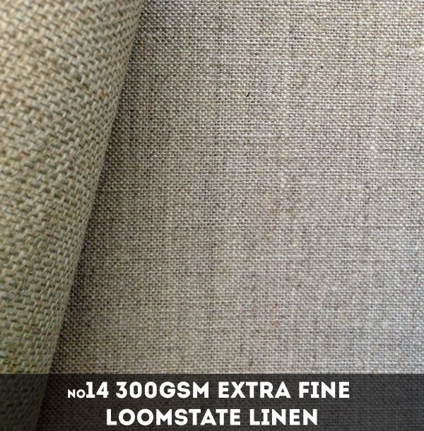Libeco Lagae #14 - 300gsm Extra Fine Loomstate Linen - 216cm x 50m