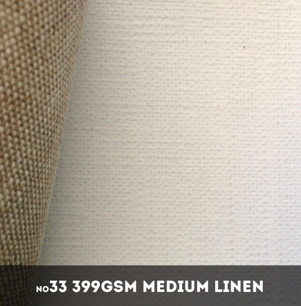 Belle Arti #33U - Medium 399gsm Triple Primed Linen - 216cm x 10m