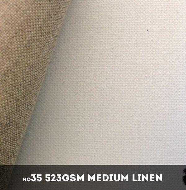 Belle Arti #35U - Fine 523gsm Triple Primed Linen - 216cm x 10m