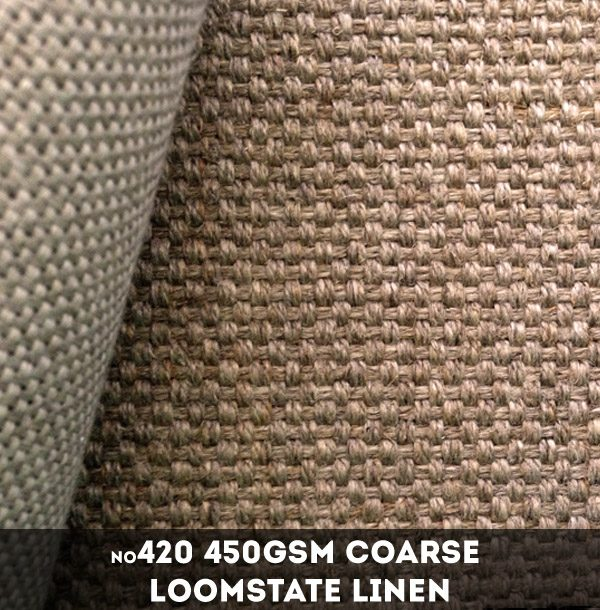 Libeco Lagae #420 - 450gsm heavy Loomstate Linen - 216cm x 50m
