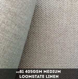Belle Arti #81 - Medium 405gsm Loomstate Linen - 220cm x 10m