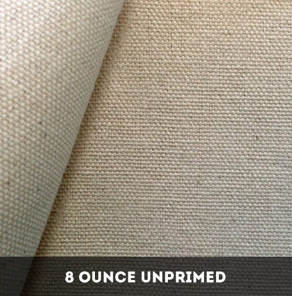 8 Ounce Unprimed Cotton Duck Canvas – 25 Metres image by The Sydney Canvas Company
