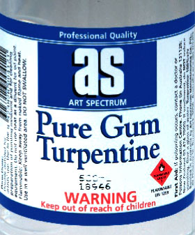 Art Spectrum Pure Gum Turpentine