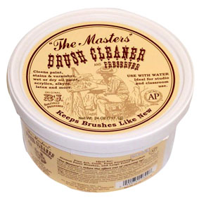 The Masters Brush Cleaner & Preserver 24oz