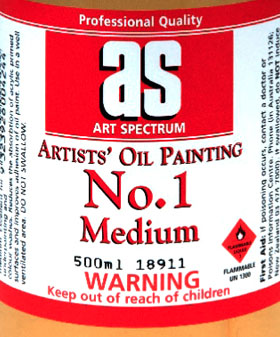Art Spectrum Paint Medium No.1