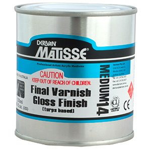 Matisse Final Varnish - Turps Based