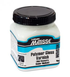 Matisse Polymer Varnish - Water Based