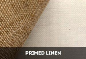 Primed Linen Rolls