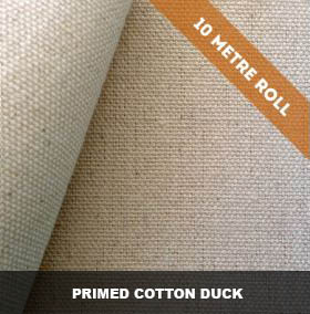 10 Metre Rolls - Triple Primed Cotton Duck Canvas image by The Sydney Canvas Company