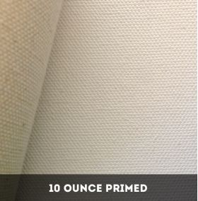 10 Ounce Double Primed Cotton Duck Canvas