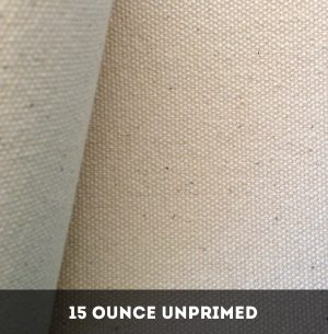 15 Ounce Unprimed Cotton Duck Canvas - 25 Metres image by The Sydney Canvas Company